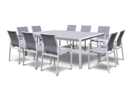 AMALFI 10 SEATER DINING SET